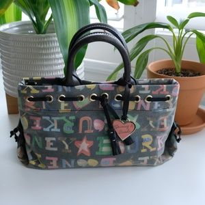 Colorful Dooney and Bourke Hand Purse